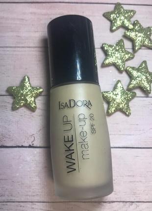 Тональный крем isadora wake up make up spf20 08 honey