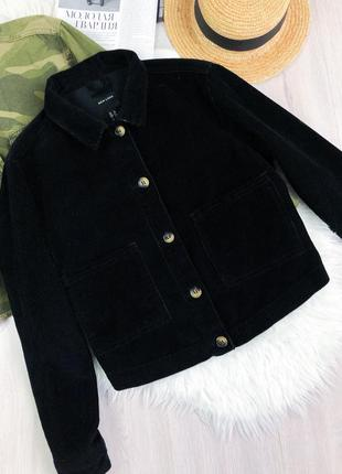 Оверсайз вельветовый пиджак new look