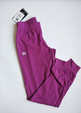 Брюки fit for fun трикотажные ,штаны спортивные на манжетах2 фото