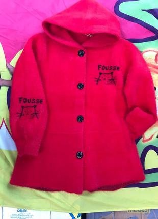 Кофта -пальто для дівчинки