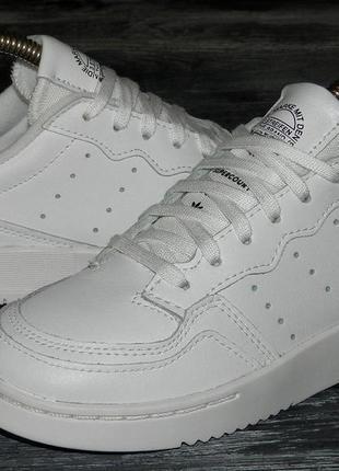 Adidas supercourt ! оригинальные, стильные,кожаные невероятно крутые кроссовки