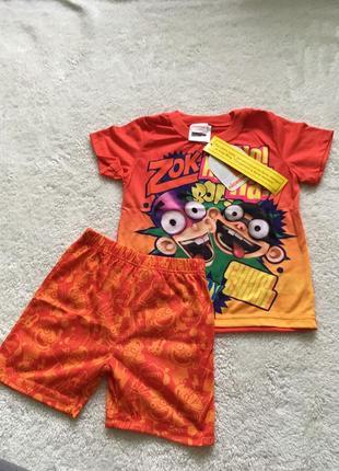 Піжама для хлопчика розмір: xxs дитячий (5р)  ціна 80грн
