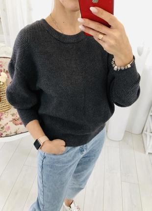 Объемный свитер оверсайз  зара zara