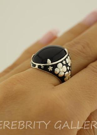 20% скидка по средам! кольцо серебряное br 2150159 em bk 18 серебро 925