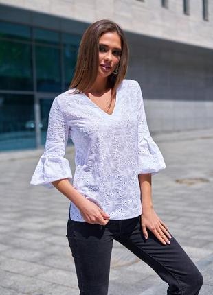 Блузка ткань прошва