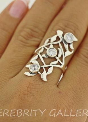 10% скидка подписчику кольцо серебряное e 1714 w 18 серебро 925