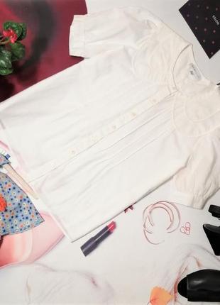 Рубашка see by chloe, 100% хлопок, размер 14/42