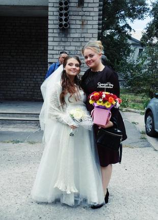 Свадебное платье на прекасную леди в положении