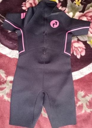 Детский гидрокостюм2 фото