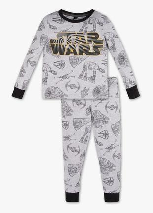 Детская пижама для мальчика 4-5 лет star wars c&a германия размер 110