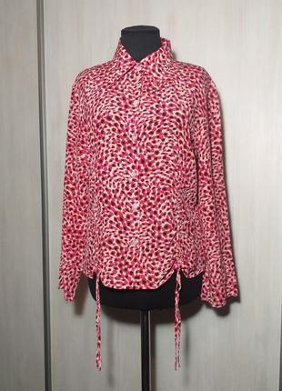 Шикарнейшая шелковая блуза от elegance