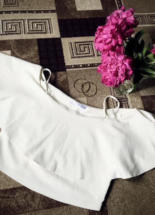 Біла блуза - топ