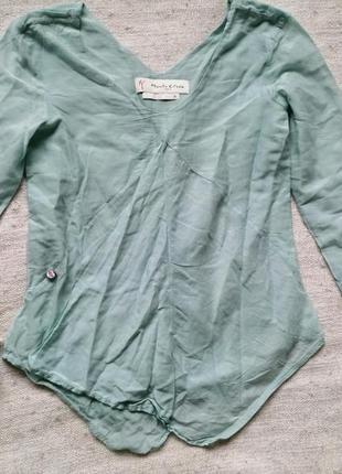Итальянская блуза рубашка manila grace