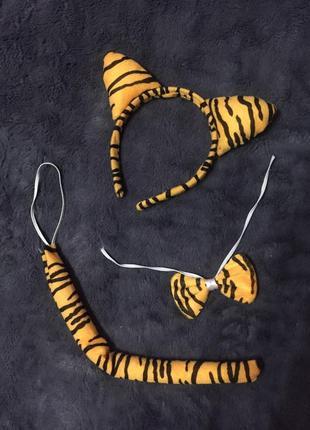 Костюм карнавальный набор тигра на новый год утренник тигрик вечеринку