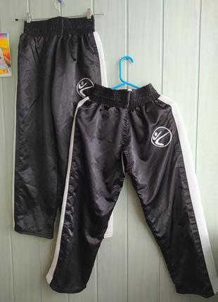 Спортивные удобные брюки как для кикбоксинга, s/m