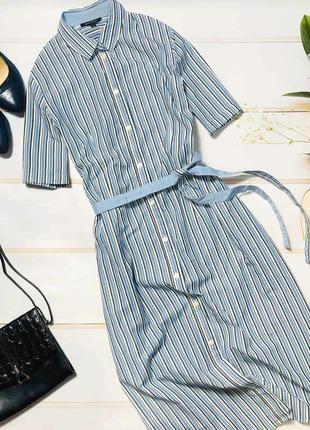 Стильное платье миди в полоску marc o polo