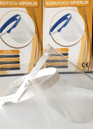 Защитный щиток для лица с подъемным экраном2 фото