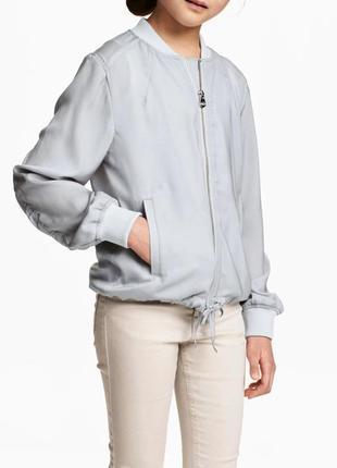 Летний бомпер h&m/летняя легкая курточка
