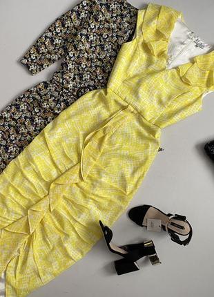 Шикарное платье макси v label london