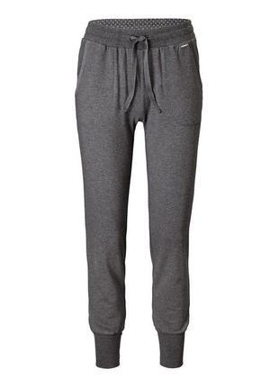 Комфортные хлопковые штаны для отдыха тсм tchibo