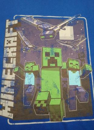 Футболка minecraft2 фото
