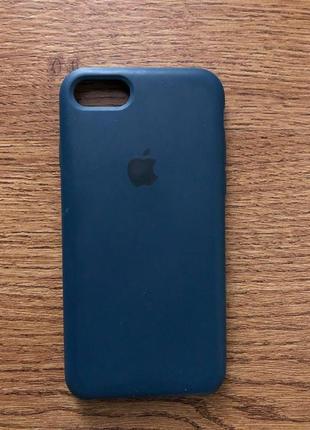 Силіконовий оригінальний чехол на 8 айфон