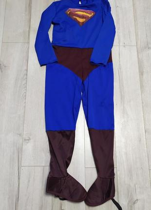 Детский костюм супермена, dc comics на 9-10 лет