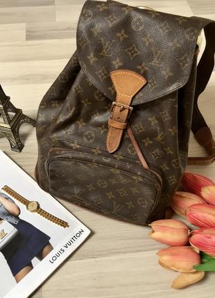 Нереально крутой рюкзак сумка louis vuitton луи виттон франция с кодом