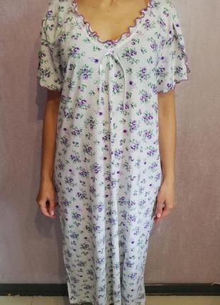 Ночная рубашка/сорочка /ночнушка размеры от 48 по 60