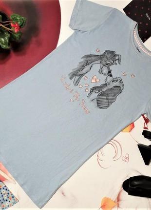Ночная сорочка marks&spencer, вискоза, размер 6/8 или xs