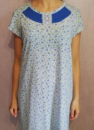 Ночная рубашка /сорочка /ночнушка размеры от 50 по 58