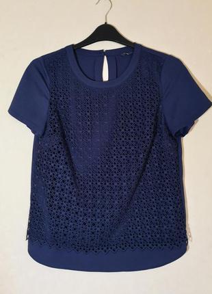 Красивая блуза с кружевом marks & spencer