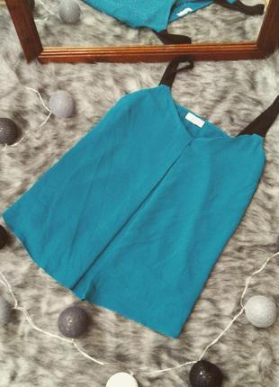 Sale блуза цвета морской волны papaya