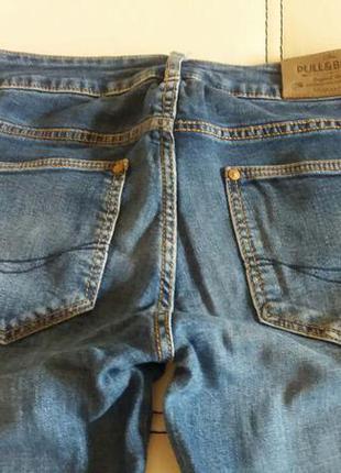 Крутые прямые джинсы pull&bear