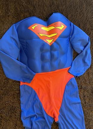 Костюм superman/супермена от warner bros