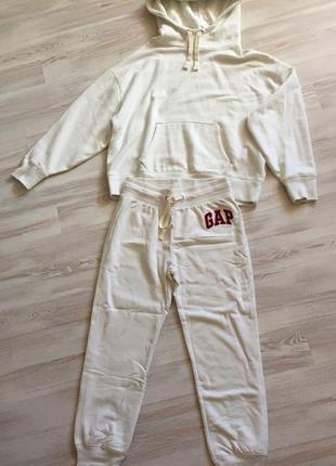 Спортивный костюм gap флис худи толстовка брюки свитшот