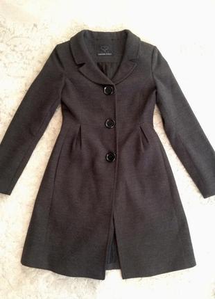 ce182d651a9 Женское серое пальто 2019 - купить недорого вещи в интернет-магазине ...