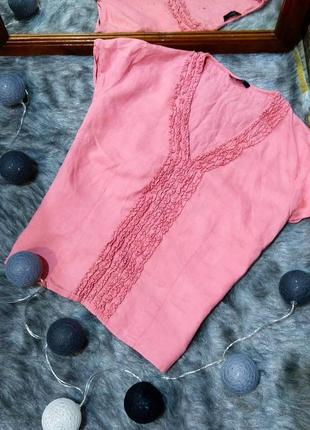 Sale блуза топ кофточка из 100% льна