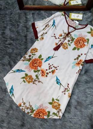 Sale новое! платье туника из коттона/хлопка