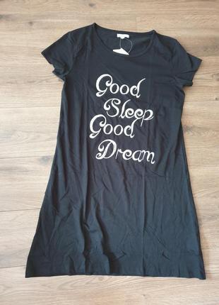 Esmara ночная рубашка платье трикотажное 46/48 р