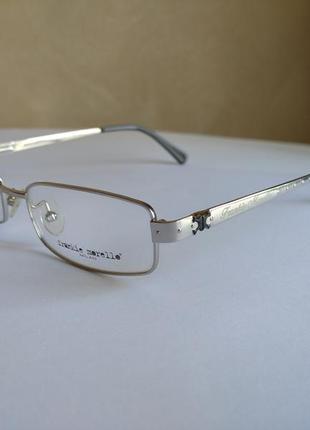 Металлическая лёгкая оправа под линзы, очки оригинал frankie morello fm02201