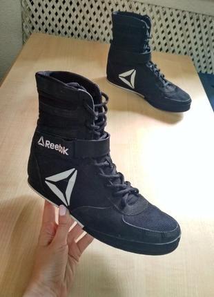 Боксерки reebok boxing boot - buck cn4738 оригинал