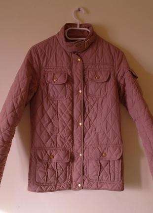 Стеганая куртка на синтепоне демисезон