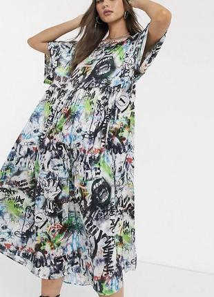 Платье оверсайз/oversize collusion