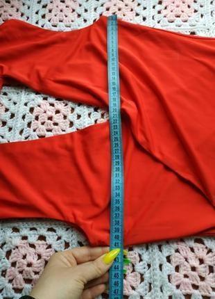 Новый женский коралловый боди # sale # боди блузка # h&m9 фото