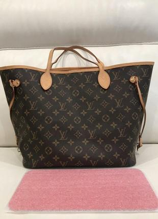 Сумка opигинaл louis vuitton neverfull mm