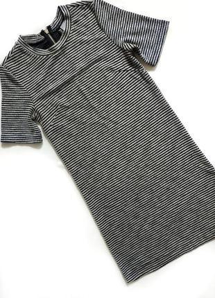 #sale базовое платье футболка в полоску хс