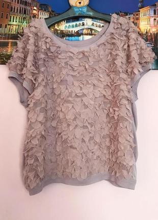 Перепродажа !!!!!!футболка,милая блуза -футболка1 фото