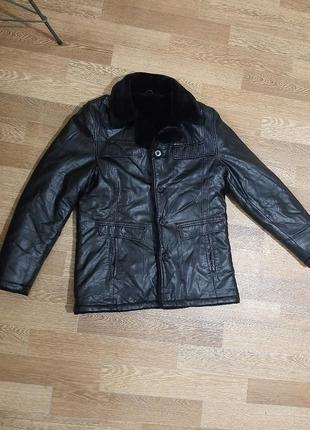 Куртка-дублянка,  еко шкіра