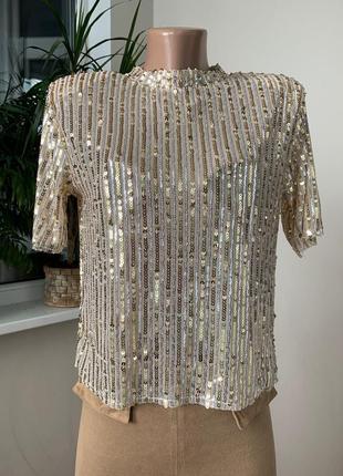 Красивая блуза футболка1 фото